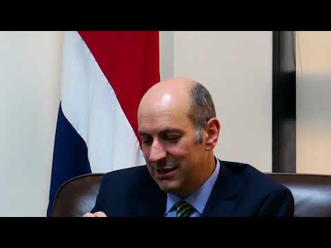 Entrevista con Rodrigo Cubero, presidente del Banco Central V Parte