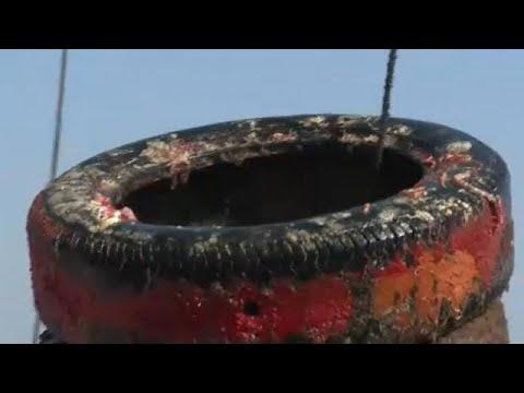 Απομάκρυνση χιλιάδων ελαστικών από τη Μεσόγειο