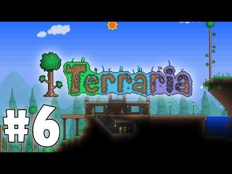 Играем в Terraria #6 (Co-op) - Беар Гриллс :)