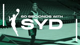 60 Seconds With Syd (Episode 10) by WNBA