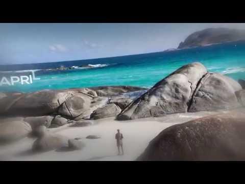Coastal Wonders of Western Australia 2017 Calendar