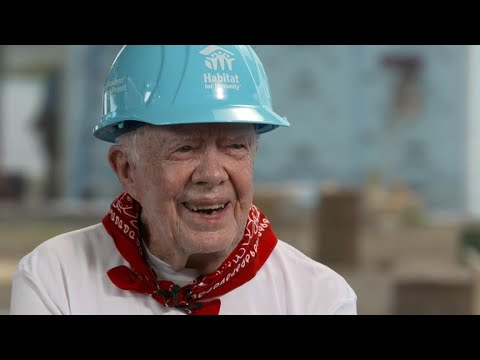 """Former President Jimmy Carter: """"America will learn from its mistakes"""""""