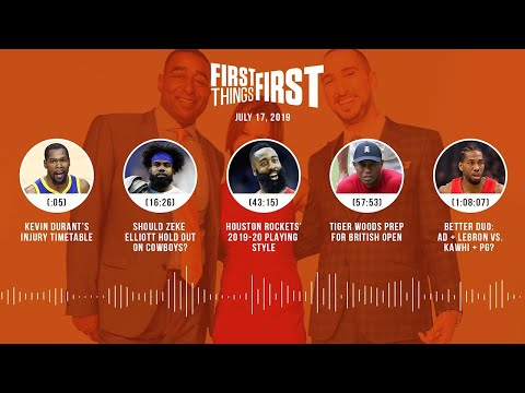First Things First audio podcast (7.17.19) | FIRST THINGS FIRST