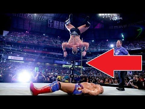 WWE'deki Şok Edici Ölümcül Kazalar (видео)