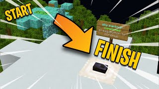 Minecraft Parkour But I Outsmart It