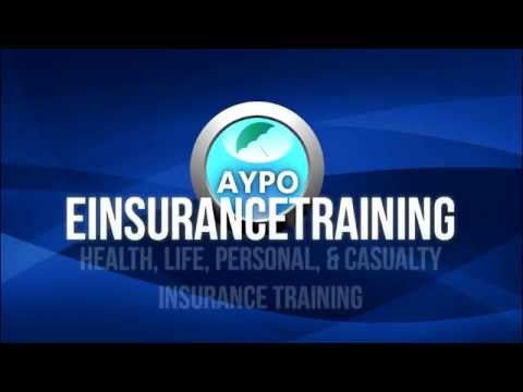 eInsuranceTraining.com – Health, Life, Personal, & Casualty Insurance Training Course