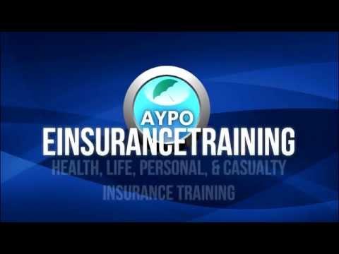 eInsuranceTraining.com – Health, Life, Personal, & Casualty Insurance Training Course