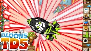RAYS OF DOOM OVERPOWERED CHALLENGE! - BLOONS TOWER DEFENSE 5