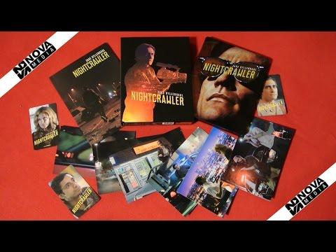 NIGHTCRAWLER Fullslip Steelbook Nova Media Blu-Ray Jake Gyllenhaal Unboxing