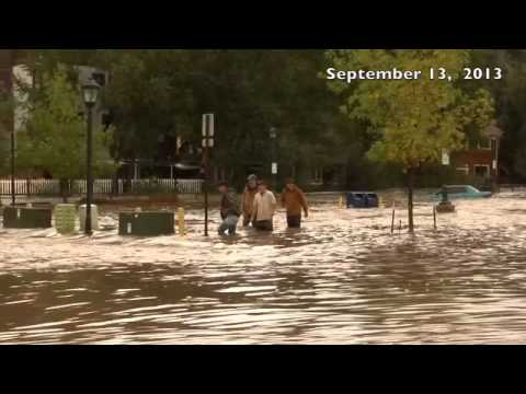 Rembering The September Flood in Estes Park-One Year Later-Life Is Good In Estes Park!