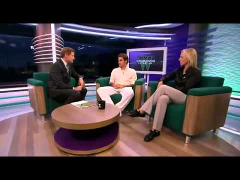 Tennis Channel interview post Wimbledon 2012