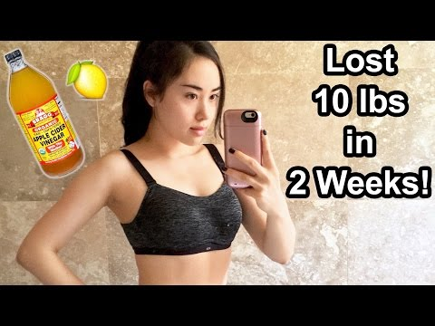 🍋 LOST 10 LBS in 2 WEEKS by DRINKING THIS | Apple Cider Vinegar Weight Loss Drink Recipe 🍹