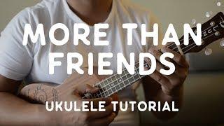 Jason Mraz - More Than Friends (feat. Meghan Trainor) [Ukulele Tutorial]
