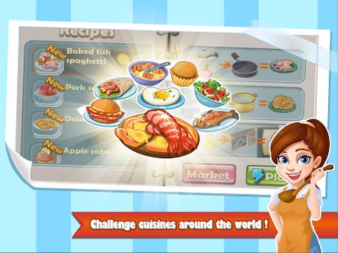Rising Super Chef Cooking Game Android İos Free Game GAMEPLAY VİDEO