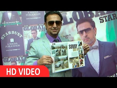 Gulshan Grover On Cover Page Global Star Magzine