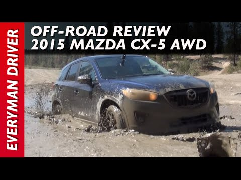 2015 Mazda CX-5 AWD Muddy Off-Road Review on Everyman Driver