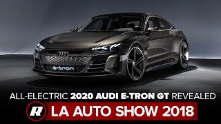 All-electric 2020 Audi E-Tron GT looks fast, charges faster | LA Auto Show 2018 by Roadshow