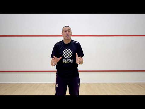 Squash tips: Routines & conditions games with Paul Carter - Introduction