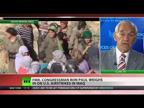 Ron Paul on Iraq: 'The sooner we get out of there the better'