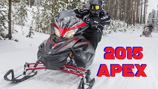 9. 2015 Yamaha Apex and FROSTBITE