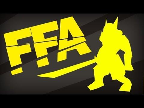 Потная игра в FFA!