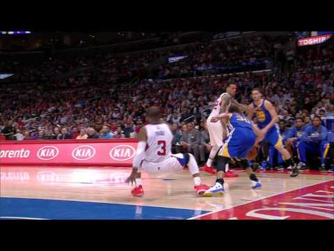 Video: Steph Curry Gives CP3 the Slip with Wicked Cross