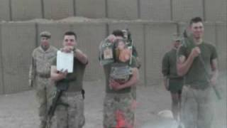 Marines In Afghanistan Bid Farewell To Porn