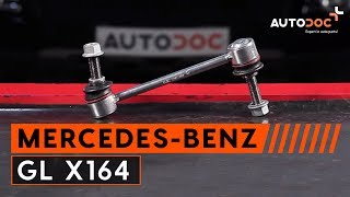 How to replace / change / install / replacement front anti roll bar link / sway bar link / stabilizer link / stabilizer bar link on ...