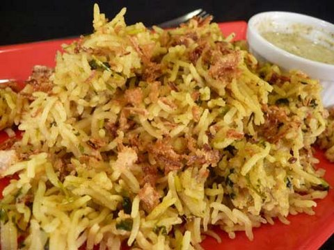Methi Pulao - Indian Cuisine