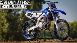 3. 2020 Yamaha YZ450F Technical Information - Motocross Action Magazine