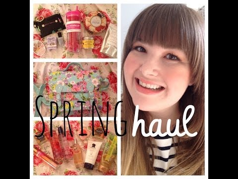 Spring Haul Pt. I (Two Parts! It's That Epic!)