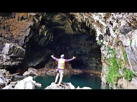 ลุยลาว EP12: อลังการถ้ำน้ำลอดเซบั้งไฟ ถ้ำน้ำลอดที่ใหญ่เเละยาวที่สุดในลาว ยาวถึง 11 กม. (видео)