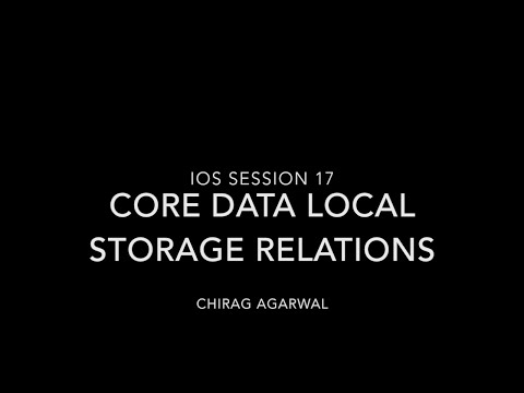 Learn IOS Tutorial 17 - Core Data,…