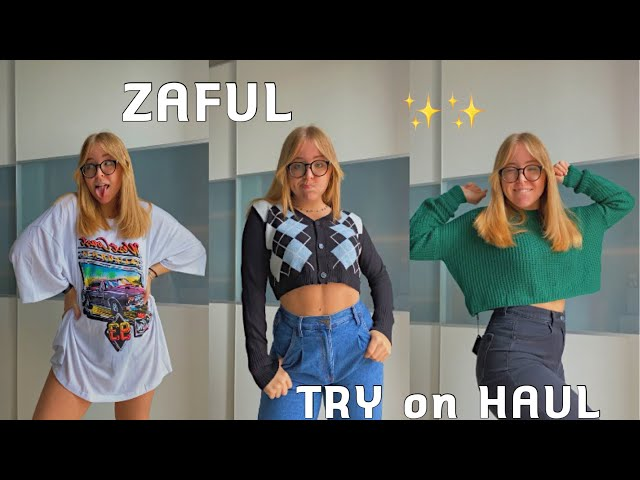 ZAFUL TRY ON HAUL