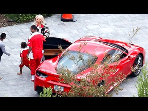Kylie Jenner Throws An Extravagant Ferrari-Themed Party For King Cairo