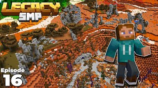 Legacy SMP : Building in the INDUSTRIAL WASTELAND in Minecraft 1.15 Survival