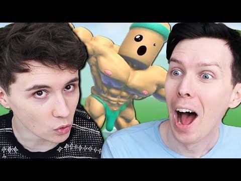 MOUNTING SOME MEN - Dan vs. Phil! (видео)