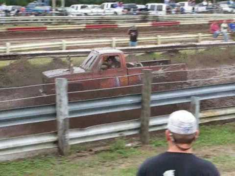 "Bithlo Muddy Muddy Christmas Trucks Gone Wild "" Alcohol Abuse "" Slalom Race Chevy"