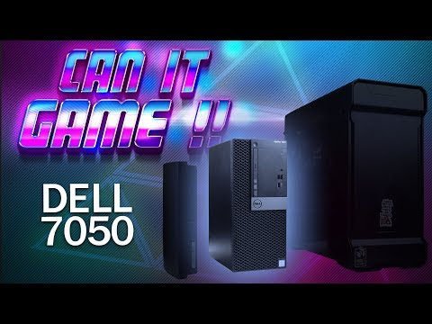 Dell OptiPlex 7050 I7-7700 Can It Game ! #Benchmark