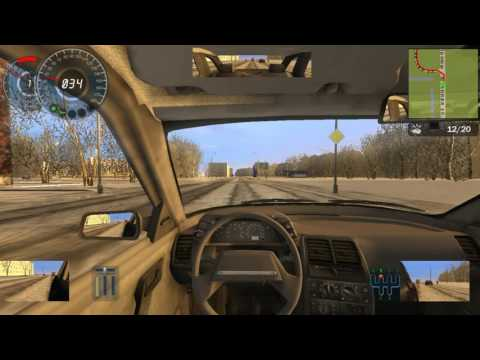 Учебный авто симулятор 2 зима №1