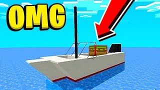 Hilarious Taco Lucky Block Ship Wars - Minecraft Modded Minigame | JeromeASF