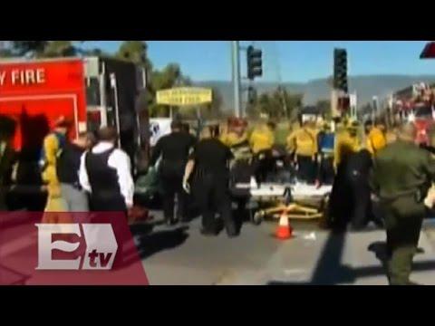 Veinte heridos en tiroteo en San Bernardino, California