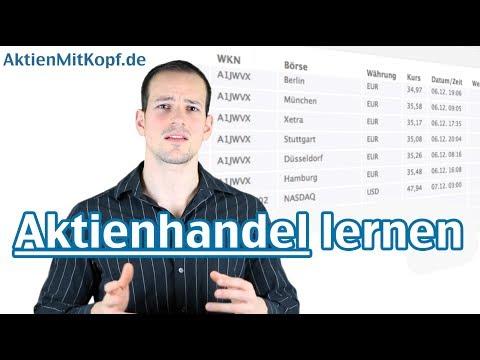 Aktienhandel lernen! Erfolgreich investieren an der Börse - AktienmitKopf.de