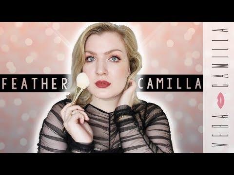 MY FIRST ENGLISH TUTORIAL AS FEATHER CAMILLA | Vera Camilla