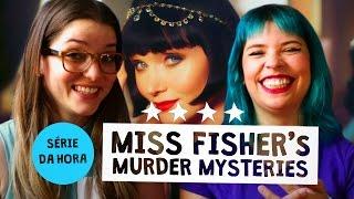 A Gisele viciou a Natalia numa série Australiana chamada MISS FISHER'S MURDER MYSTERIES e agora só se fala disso aqui em casa. Série estrelado por Essie Davi...