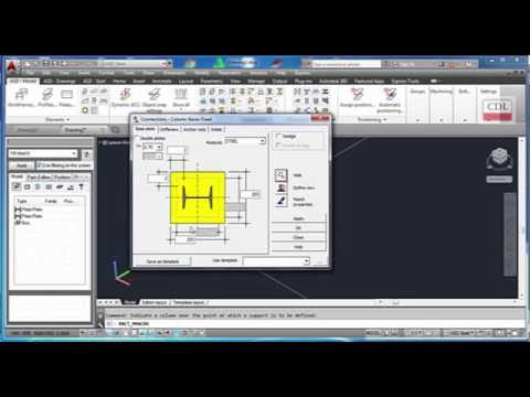 AutoCAD Structural Detailing-Modeling and Bill of Quantity of Pre-engine