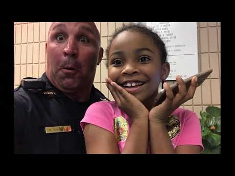 Rosalyn visits the Springfield Police Department
