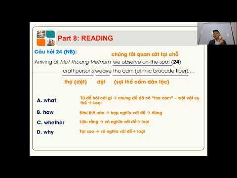 Luyện Thi Anh Văn vào Lớp 10 (test 4 part 2) - THCS & THPT Phạm Ngũ Lão và IELTS Master HCM