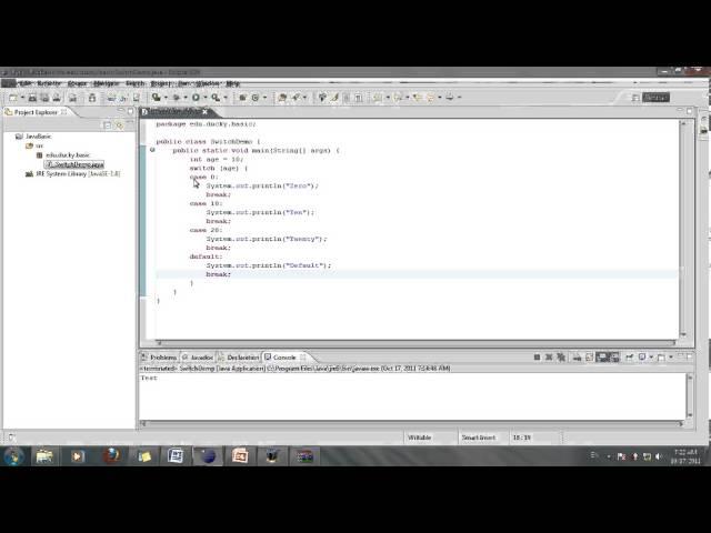 [Java cơ bản] Bài 13: Cấu trúc Switch (Phần 1)