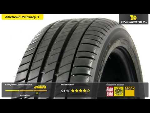 Youtube Michelin Primacy 3 205/55 R17 91 W * GreenX Letní